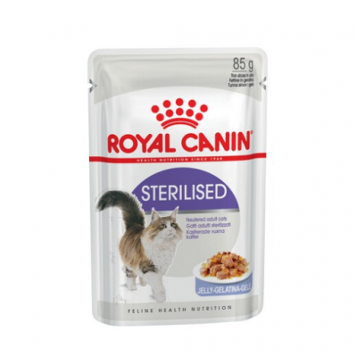 Royal Canin Стерилайз 85г желе 787001