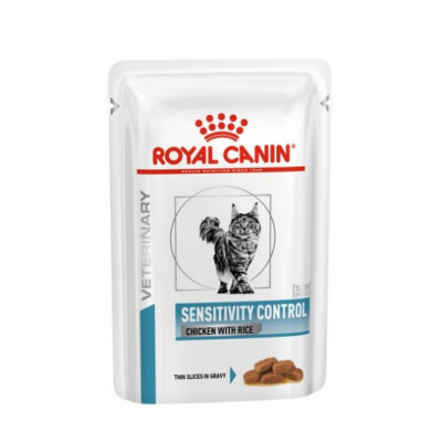 Royal Canin Сенситивити контроль цып/рис 100г 05423