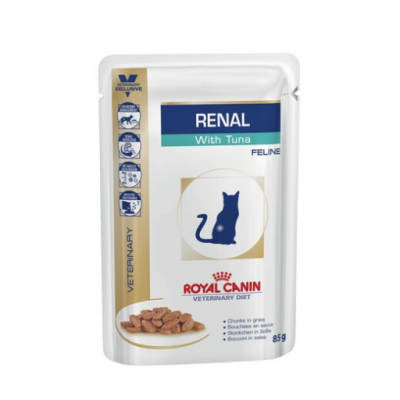Royal Canin Ренал с тунцом 85г 795101