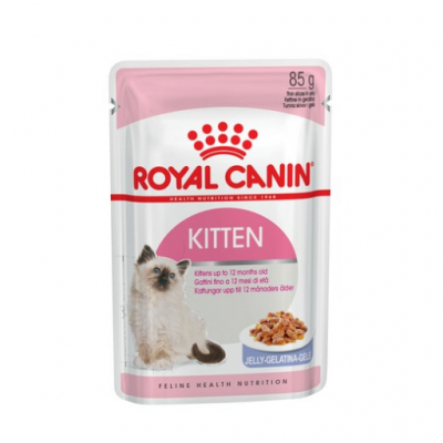 Royal Canin Киттен Инстинктив 85г желе 783101