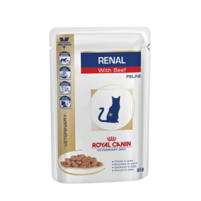 Royal Canin Ренал с говядиной 85г 796101