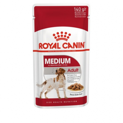 Royal Canin Медиум Эдалт 140г соус 321085