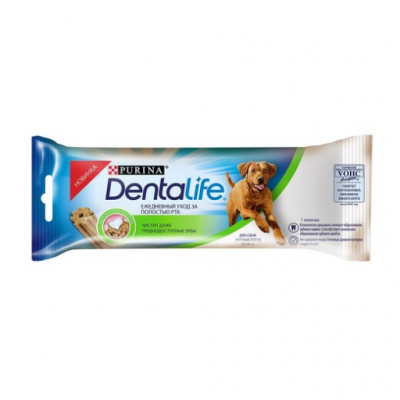 Dentalife Single Кость д/круп пород 35,5г